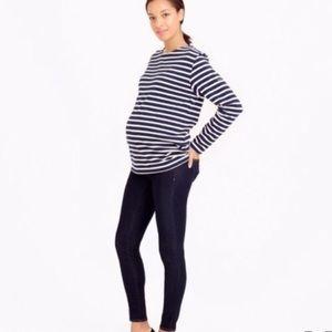 J. Crew Maternity pull-on toothpick skinny jean